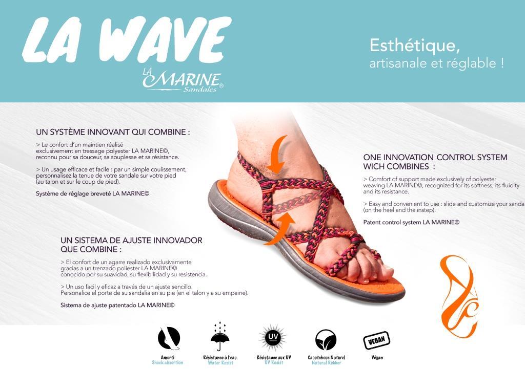 Sandale Marine Wave CALYPSO