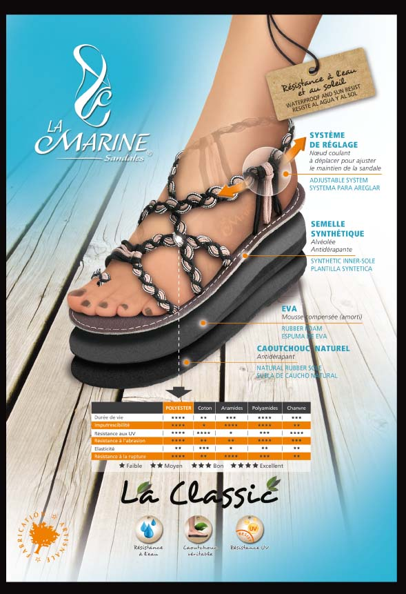 Sandale La Marine Modèle 07L